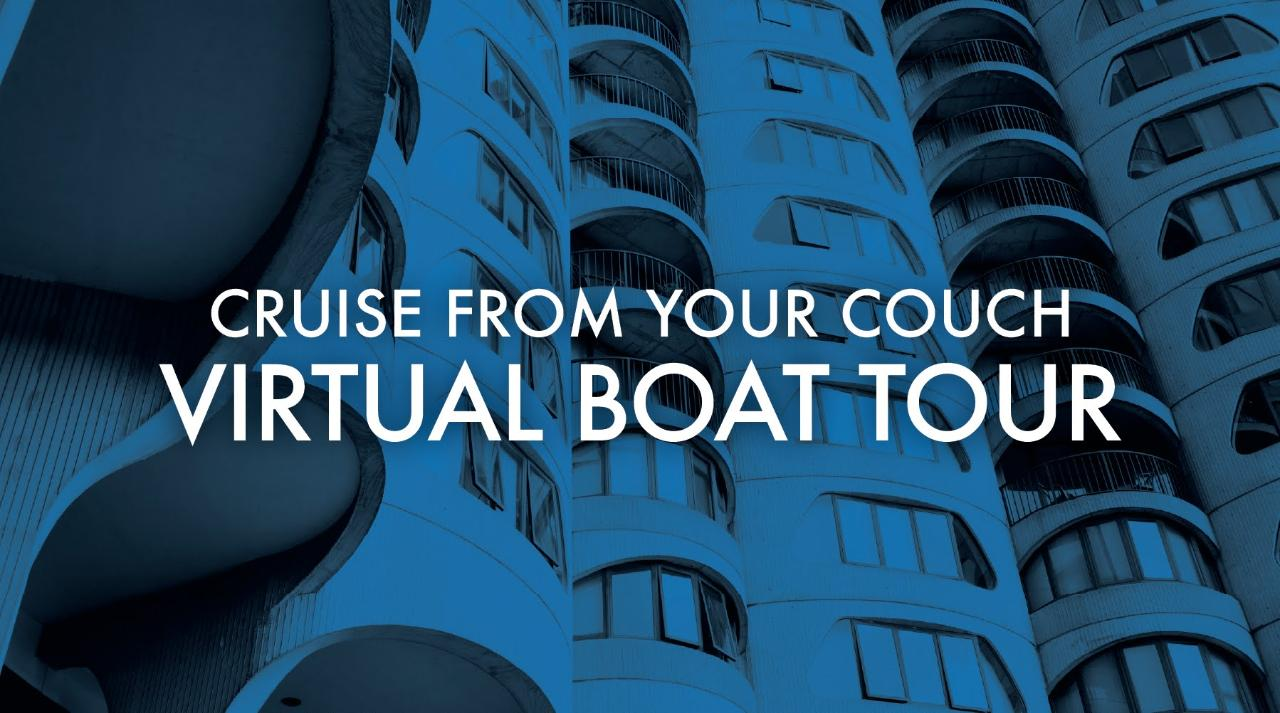 Cruise From Your Couch Virtual Boat Tour