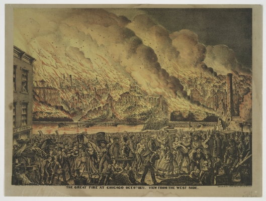 The Great Chicago Fire and the Gilded Age