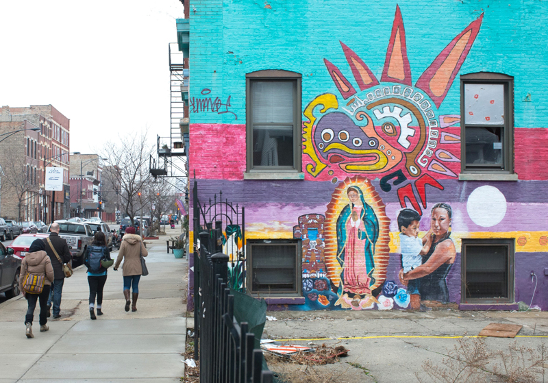 Changes and Spaces in Pilsen Food Tour