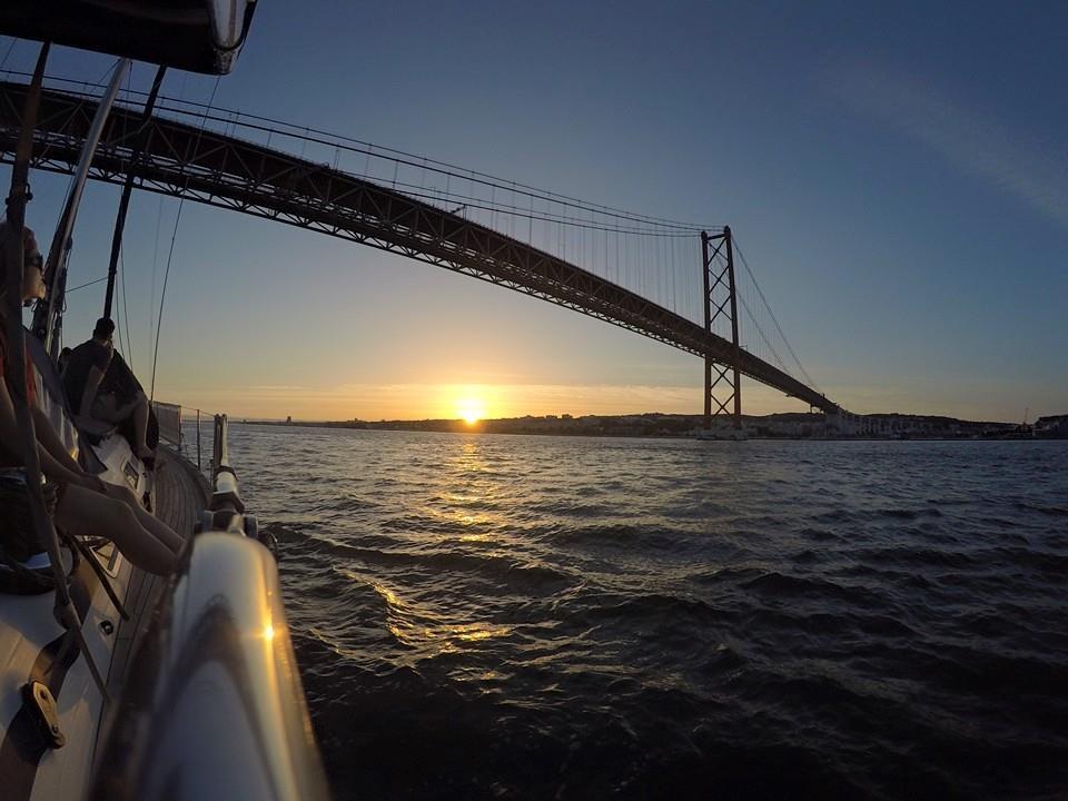 Sunset Sailing in Lisbon