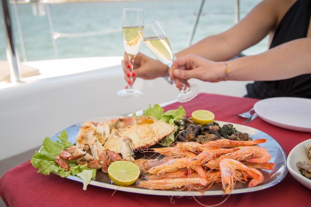 Romantic Dinner on Board