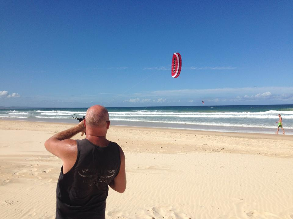 Kitesurfing Lesson 1 hour Intro Teaser- Rainbow Beach
