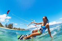 Kitesurfing Lesson 2.5 hour Time to Ride (lesson 3)- Rainbow Beach