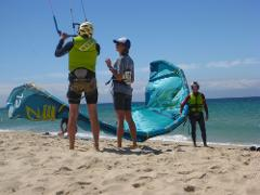 Kitesurfing Lesson 2.5 hour Beach Basics (lesson 1)- Rainbow Beach