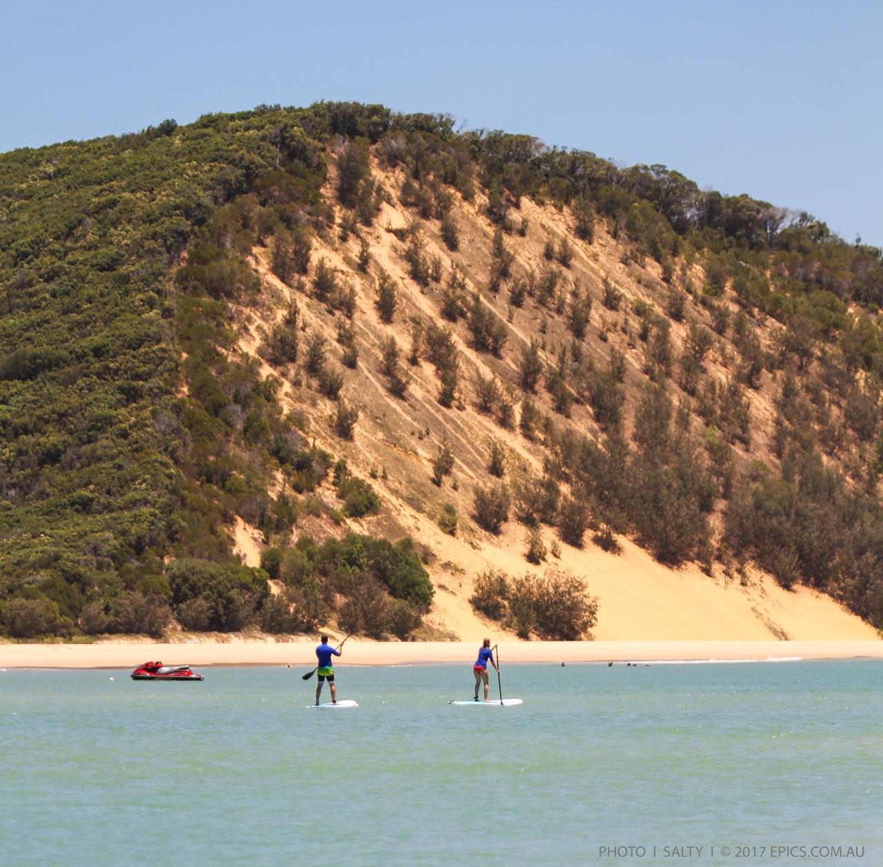 Rainbow Beach to Noosa - Beach Drive & Stand Up Paddle Lesson - Day Trip Departing Rainbow Beach