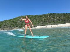 Learn to Surf Australia's Longest Wave + Great Beach Drive Adventure  - Rainbow Beach 3 hour trip