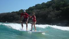 Noosa to Rainbow Beach - Beach Drive & Learn to Surf Australia's Longest Wave - Day Trip Departing Noosa