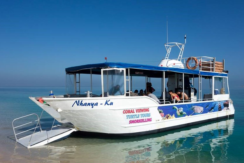 1 Hr Glass Bottom Boat Tour - GIFT VOUCHER
