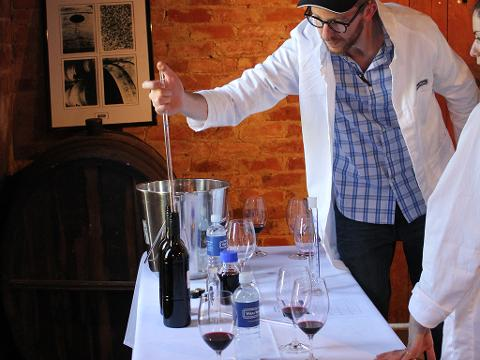 Church Block Blending Class and  Range Tasting
