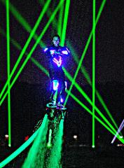 LED Light Suit Show (Night Time Only)