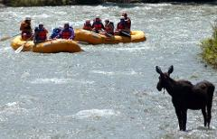 The Geyser Zipline/Rafting Package