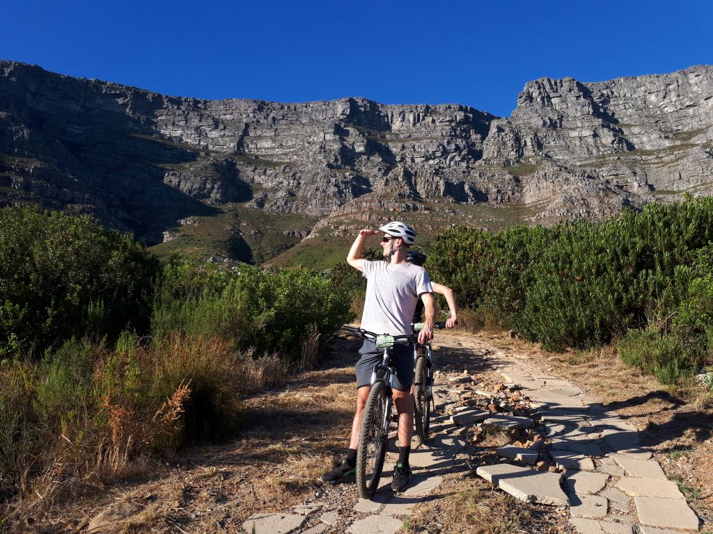 Mountain biking tours in Cape Town