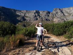 Mountain biking tours in Cape Town half day