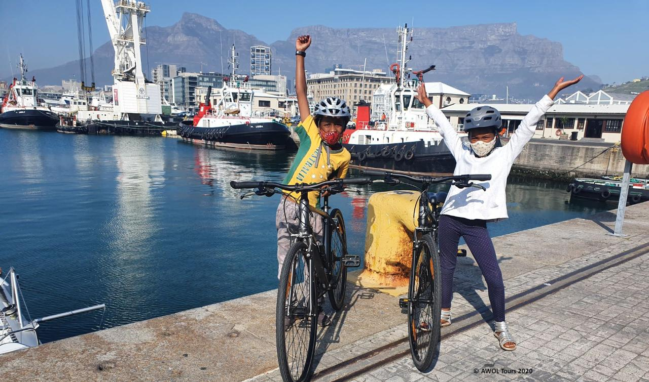 Educational tours of Cape Town by bike