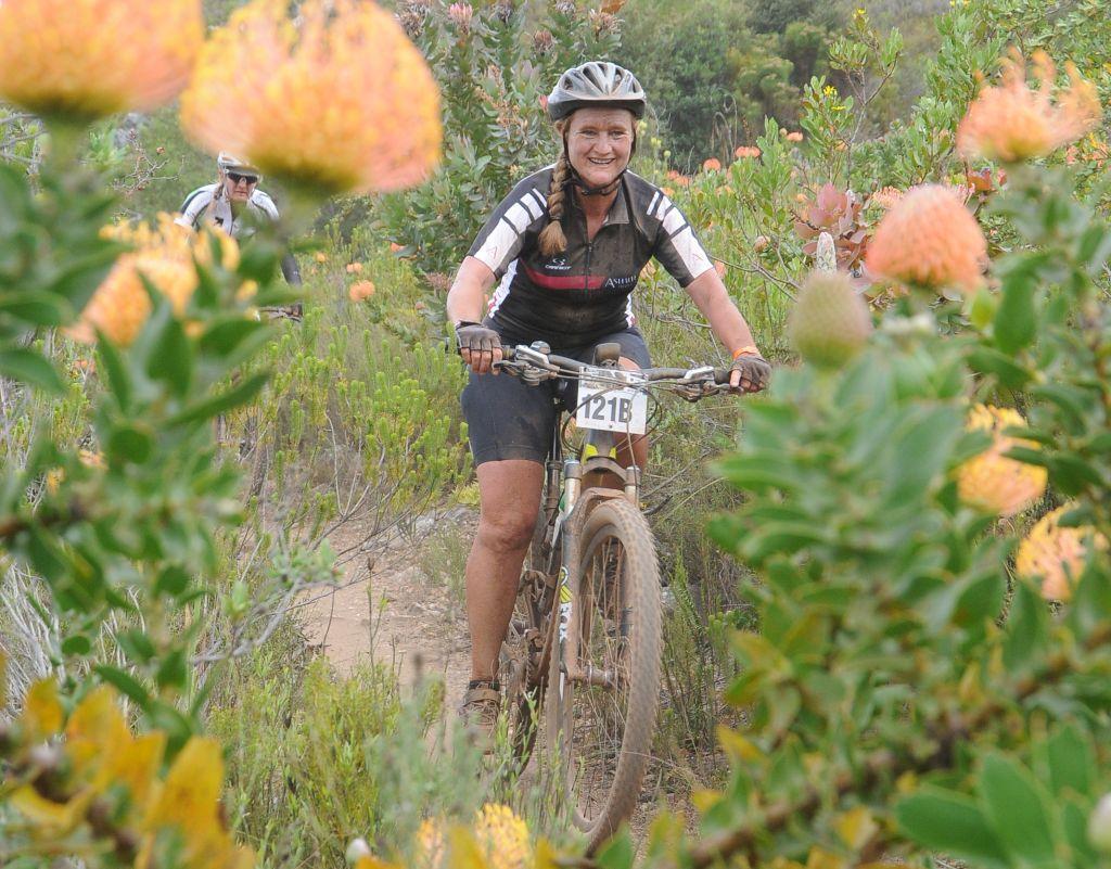 Mountain biking tours outside Cape Town