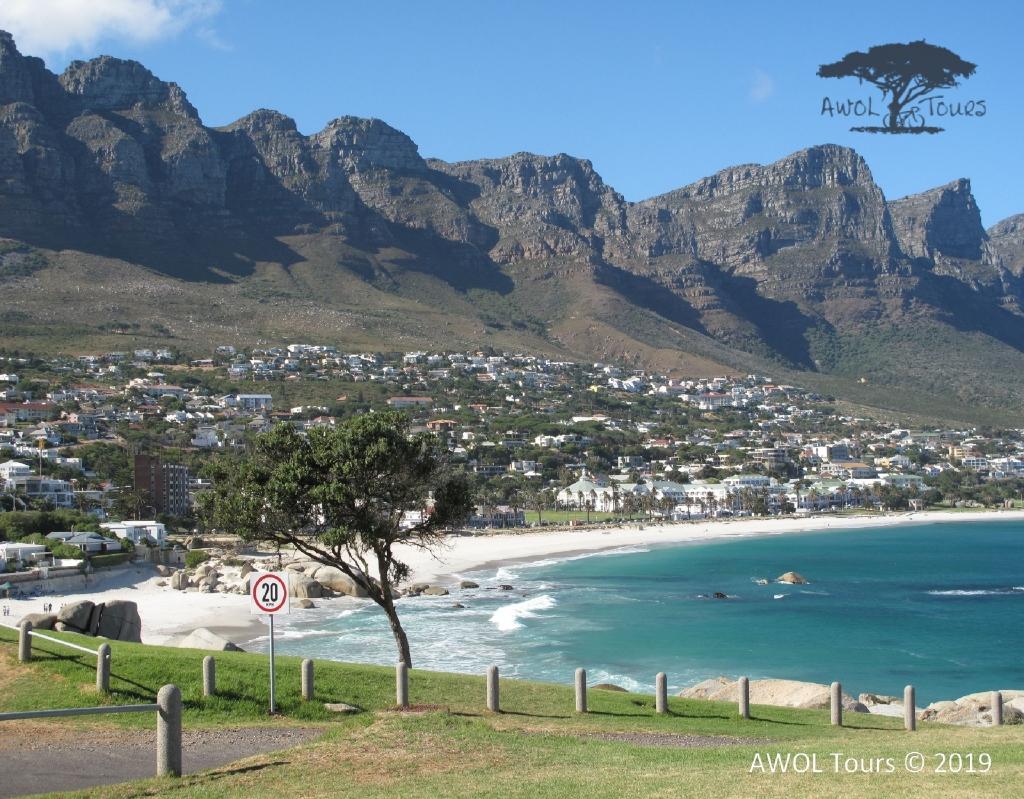 Road biking along Atlantic Seaboard Cape Town