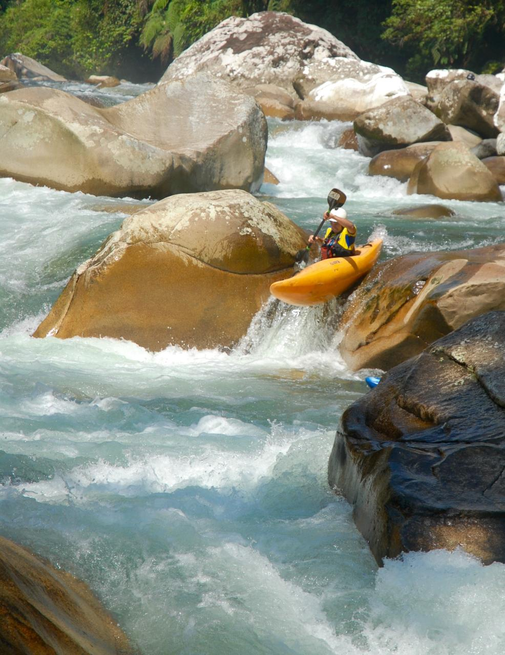 whitewater Kayaking all inclusive 9 days