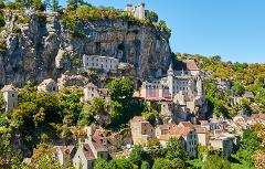 ROCAMADOUR VILLAGE PRIVATE HALF DAY TOUR FROM SARLAT