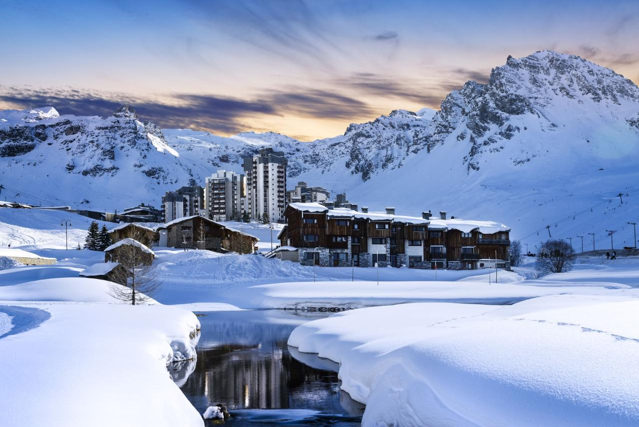 FROM LYON TO TIGNES TRANSFER