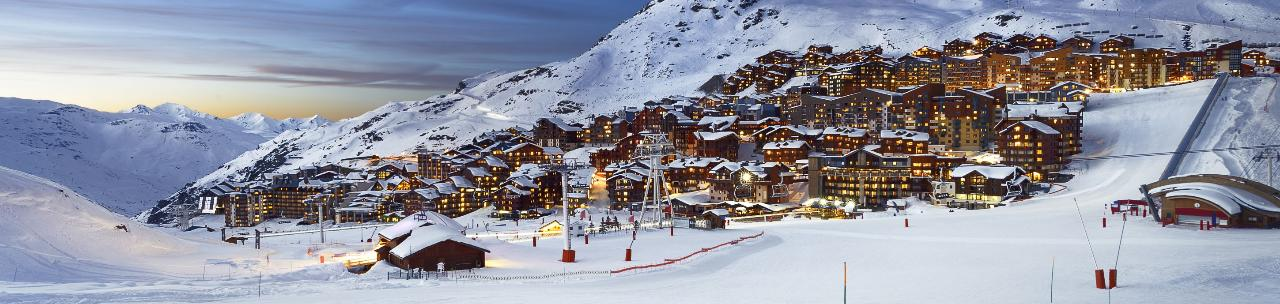 FROM LYON TO VAL THORENS TRANSFER