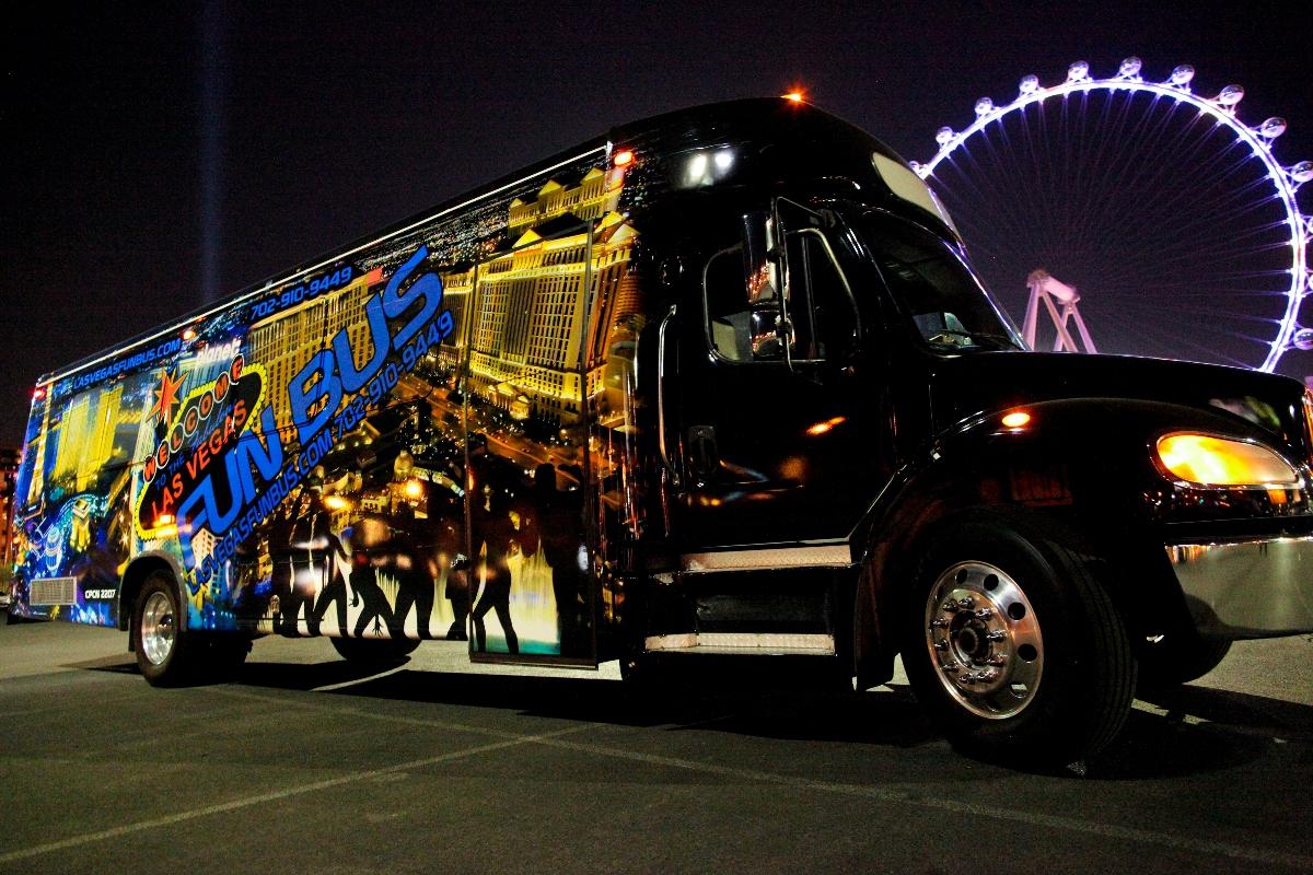 Las Vegas Fun Bus Booze Cruise  Party Bar Tour