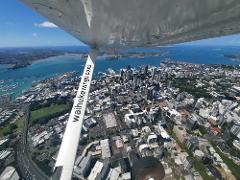 Auckland City Scenic - North Shore Airport departure
