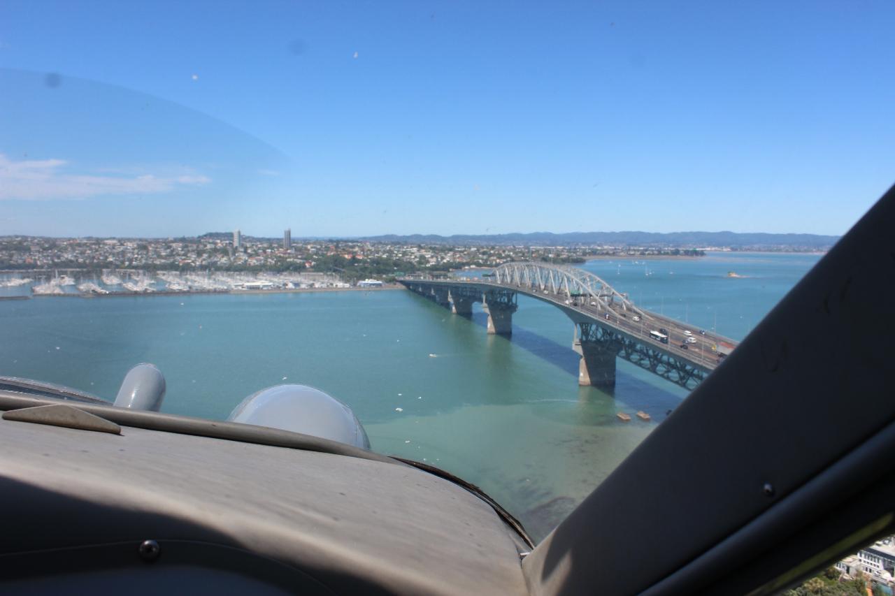 Scenic Flight over Rangitoto Volcano and Auckland City