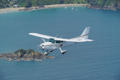 Waiheke Island Scenic over Hauraki Gulf & City