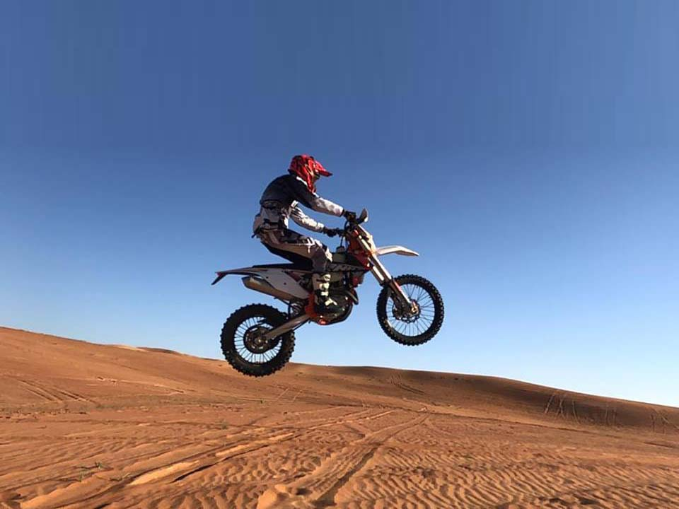 Desert Enduro Motorbike Tour - Custom Full Day Ride