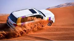 Private 4x4 Pick up and drop off 30 min Dune Bashing