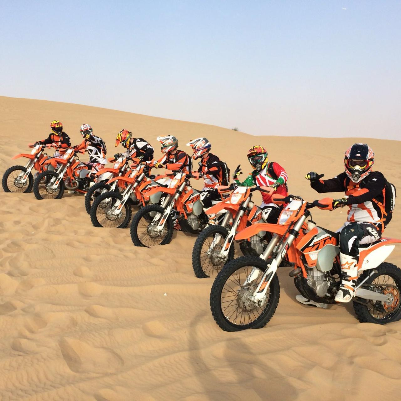 Desert Enduro Motorbike Tour - Beginner (2 hours)