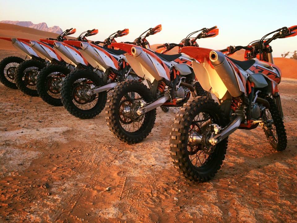 Desert Enduro Motorbike Training - Clutch/Gears (2 hours)