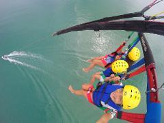 Triple Parasail Flight 1200 Feet