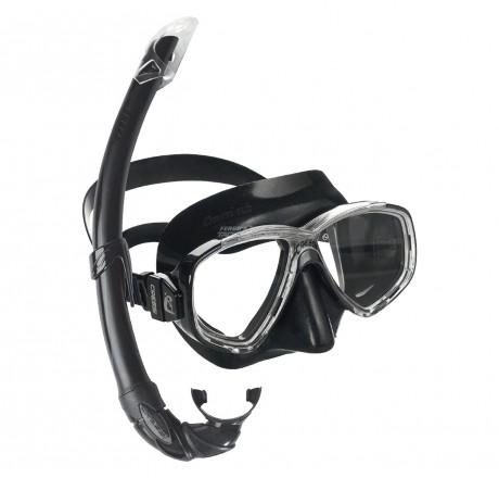 Cressi Perla Mare Mask and Snorkel Set (Adult Sizes)