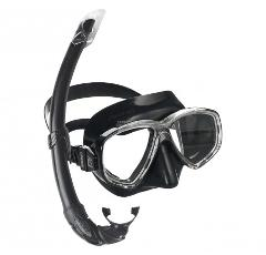 Cressi Perla Mare Mask and Snorkel Set (Adult Sizes)