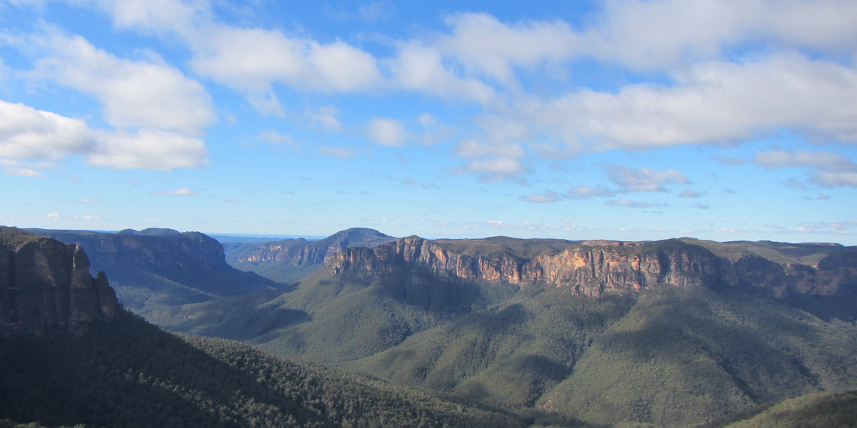 Grand Blue Mountains Tour