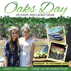 Oaks Day Ladies Lunch Cruise - Thursday 7th November, 2019