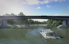 Tour the Echuca Moama Bridge Project (August - November 2021)