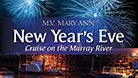 New Years Eve Dinner Cruise - Tuesday 31st December, 2019