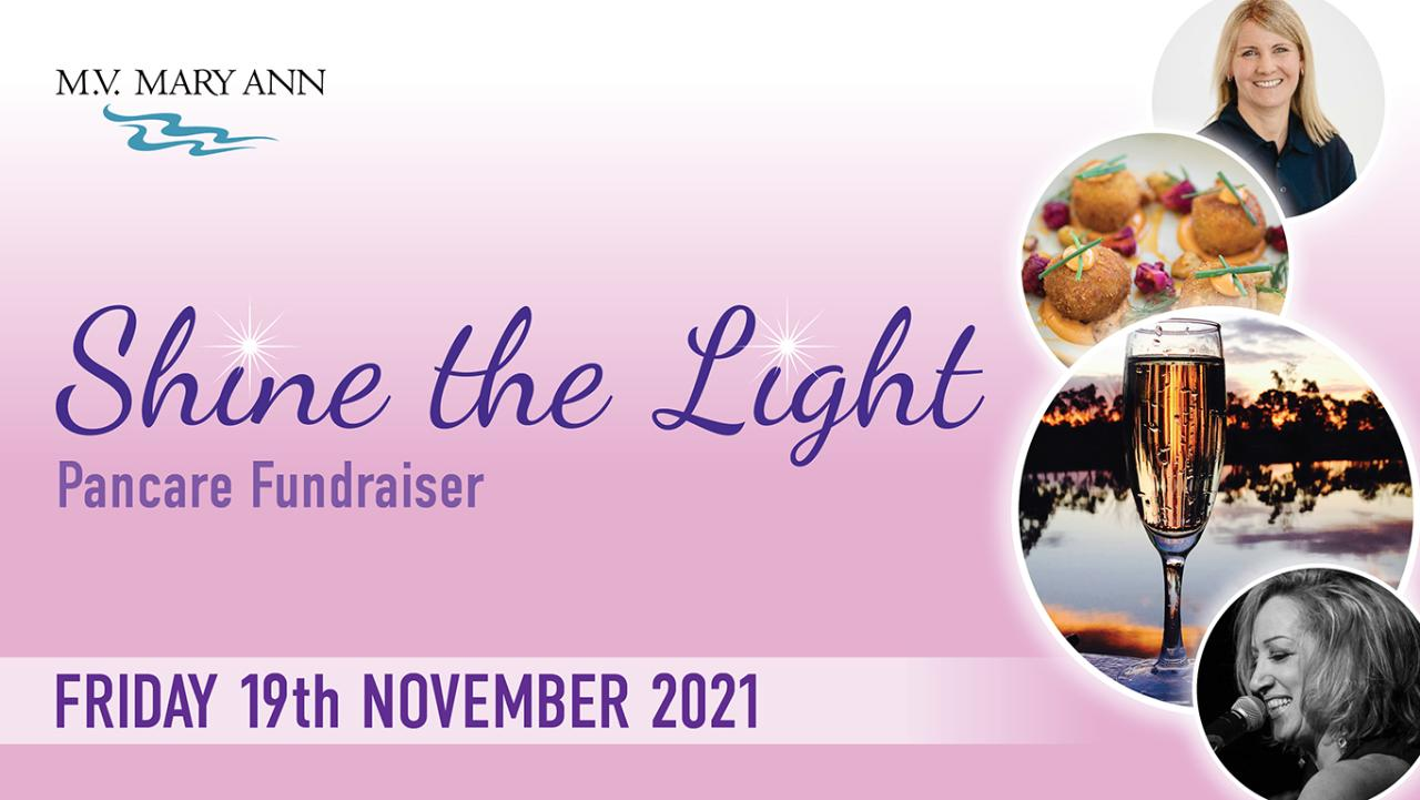 'Shine the Light' Pancare Fundraiser - Friday 19th Nov - SOLD OUT