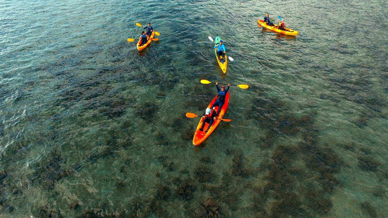 Island Hopping Kayak Tour -  Day Tour