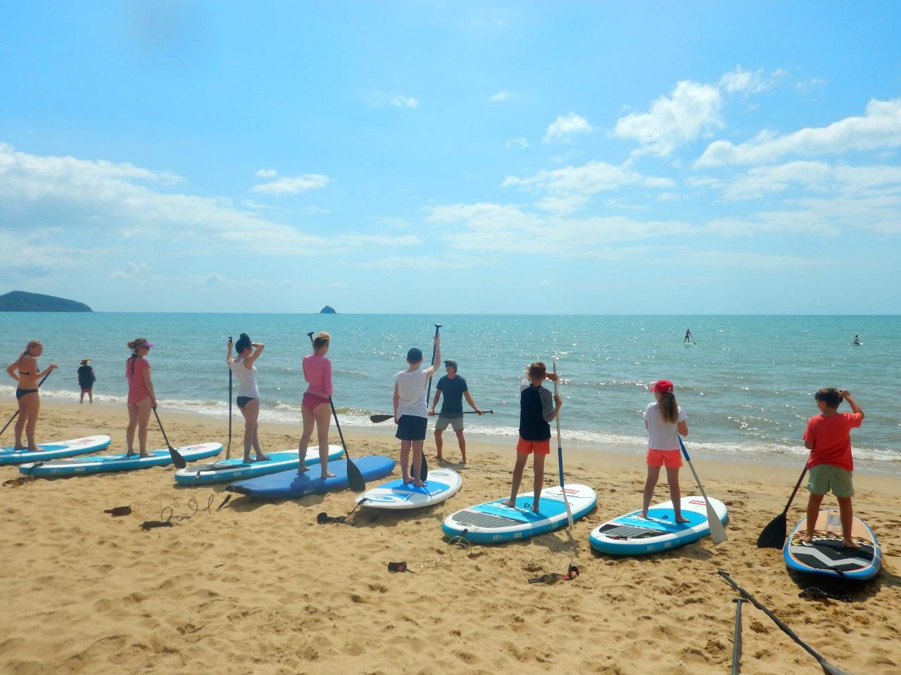 Sunrise Paddle Boarding - Group Lesson