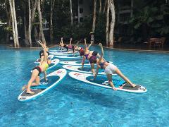 SUP Yoga - Paddleboarding Yoga