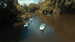 Yoga and Paddleboarding Half Day Rainforest Retreat