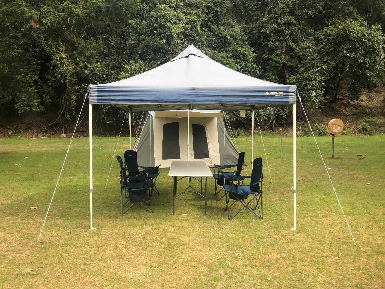 Narrabeen Deluxe Camping Experience - Campsite Set Up Service