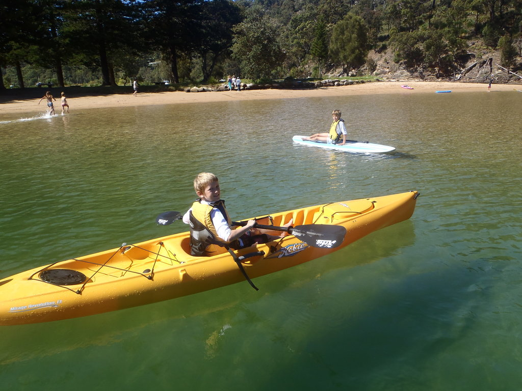 Single Kayak Rentals - Basin Campground