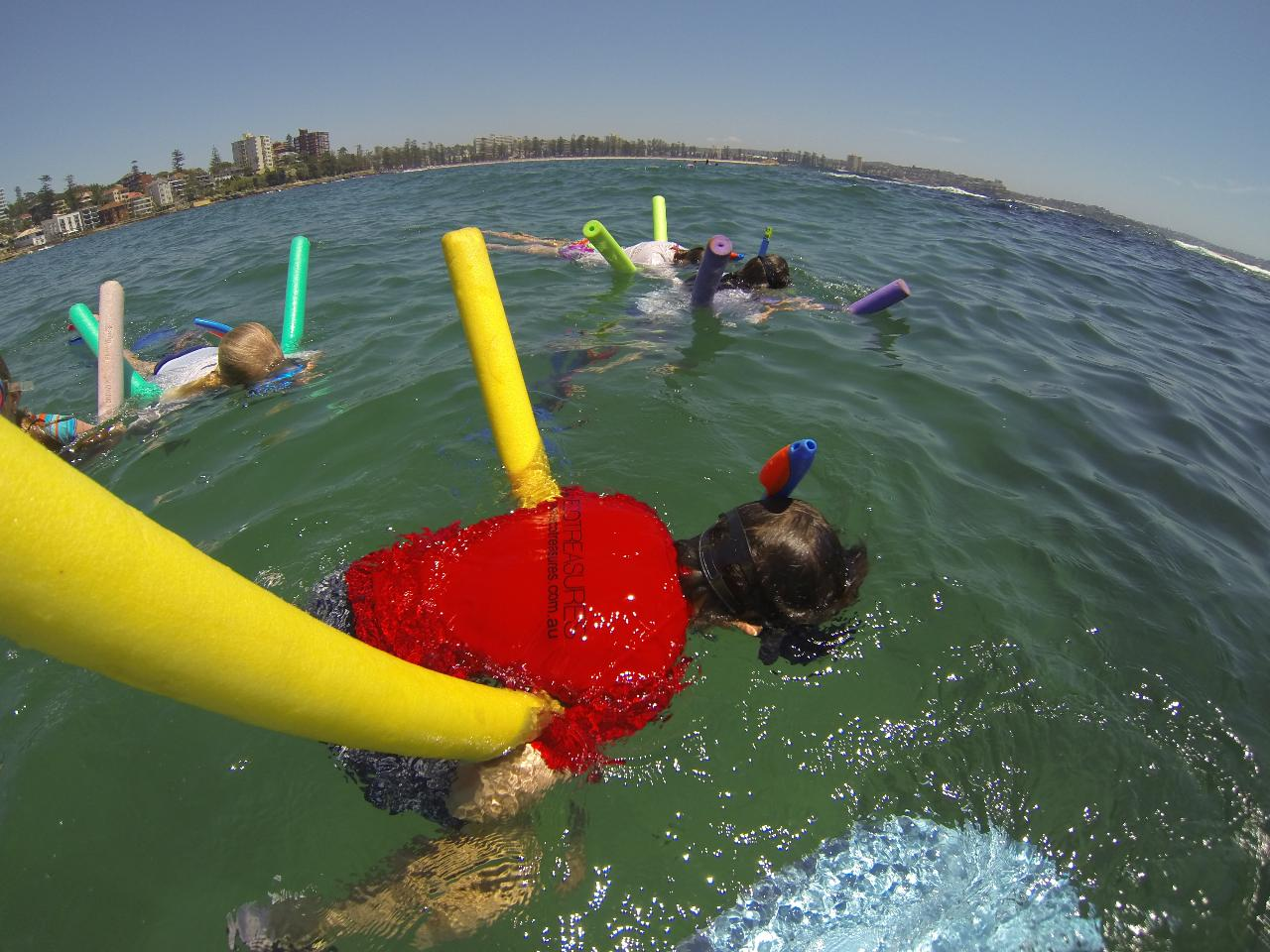 Shelly beach Snorkel Squids Holiday Programme