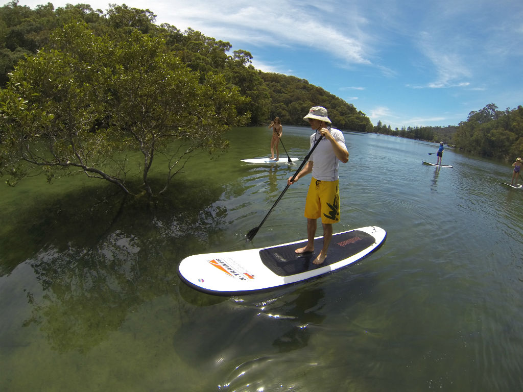Basin Campground Stand Up Paddle Safari