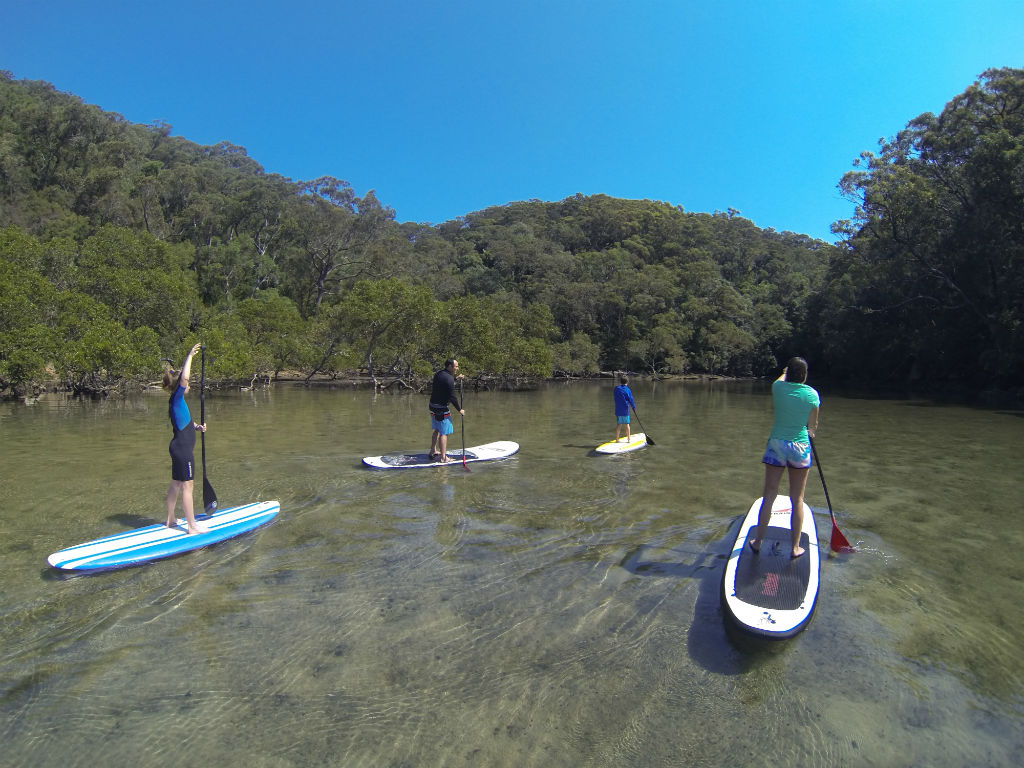 Private Basin Campground Stand Up Paddle Safari