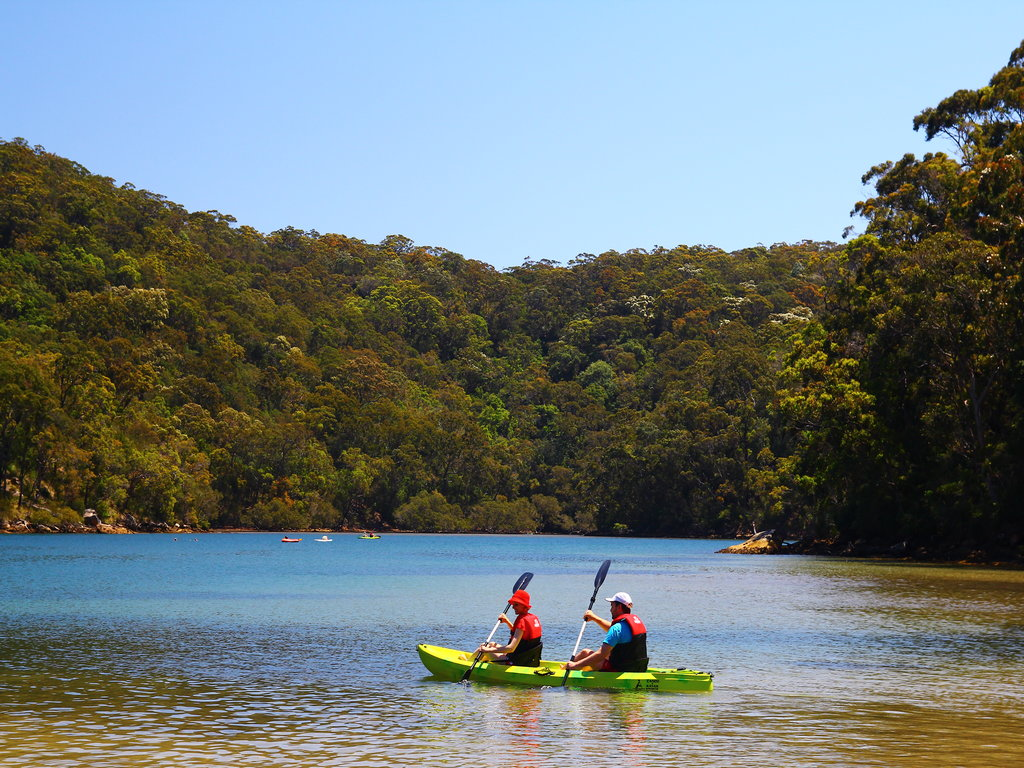 Double Kayak Rentals - Basin Campground